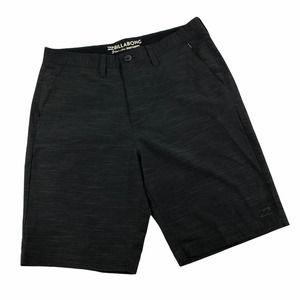 Billabong Submersibles Crossfire Black Shorts 32
